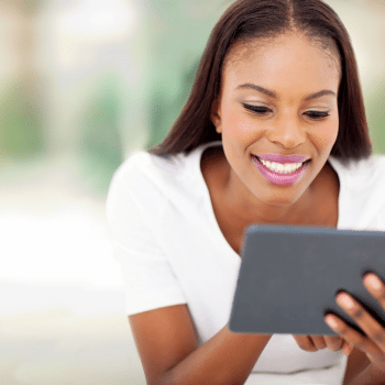 woman-on-tablet