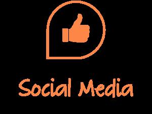 Social media product logo