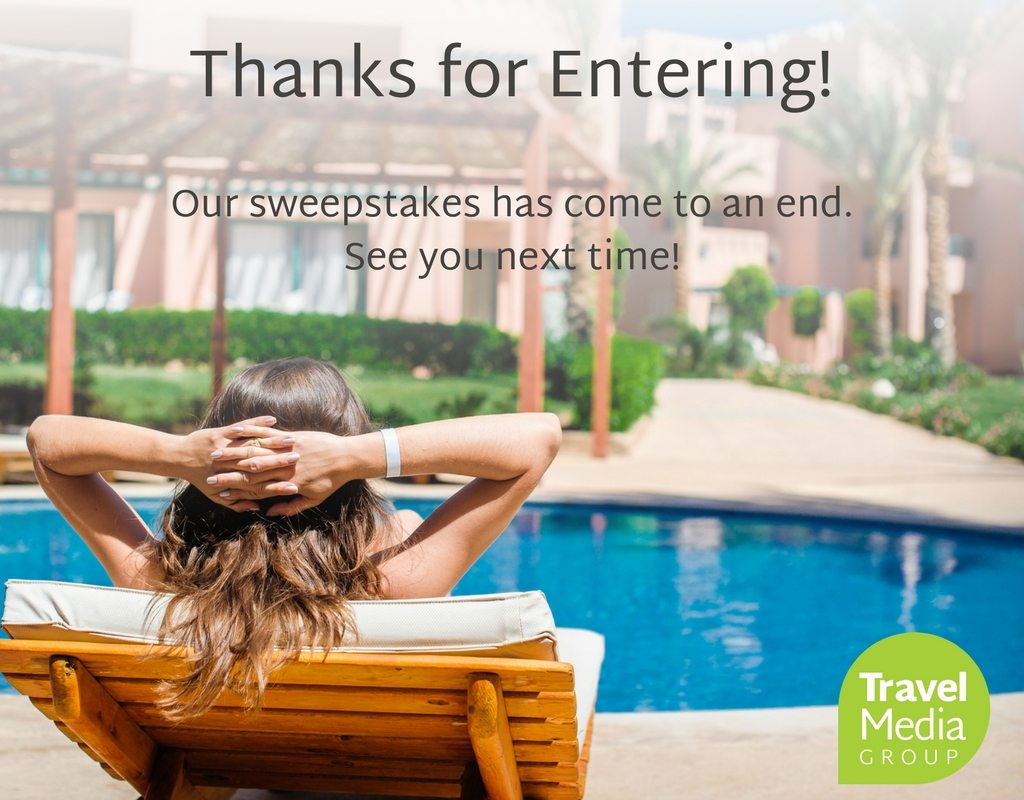Travel Media Group Contest Ended