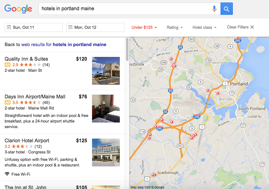 Understanding new google hotels booking features for Google hotes