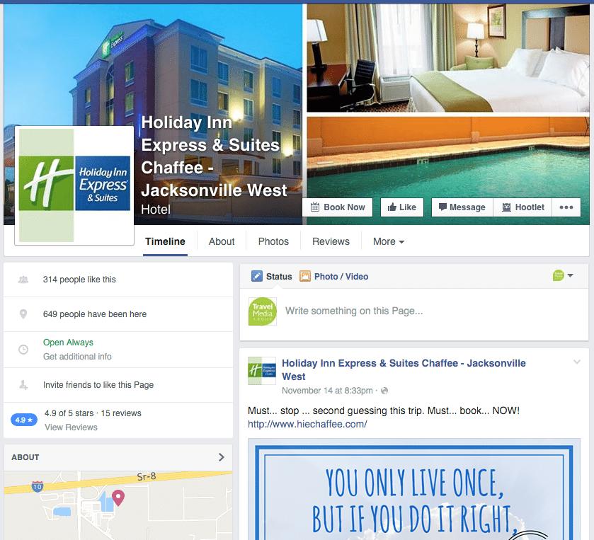 Holiday Inn Express Facebook