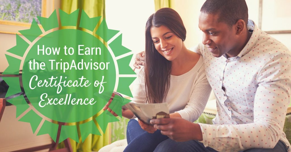 How to Receive the TripAdvisor Certificate of Excellence Award