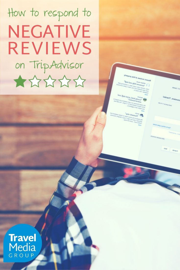 Here are three rules to follow when you respond to negative reviews on TripAdvisor.