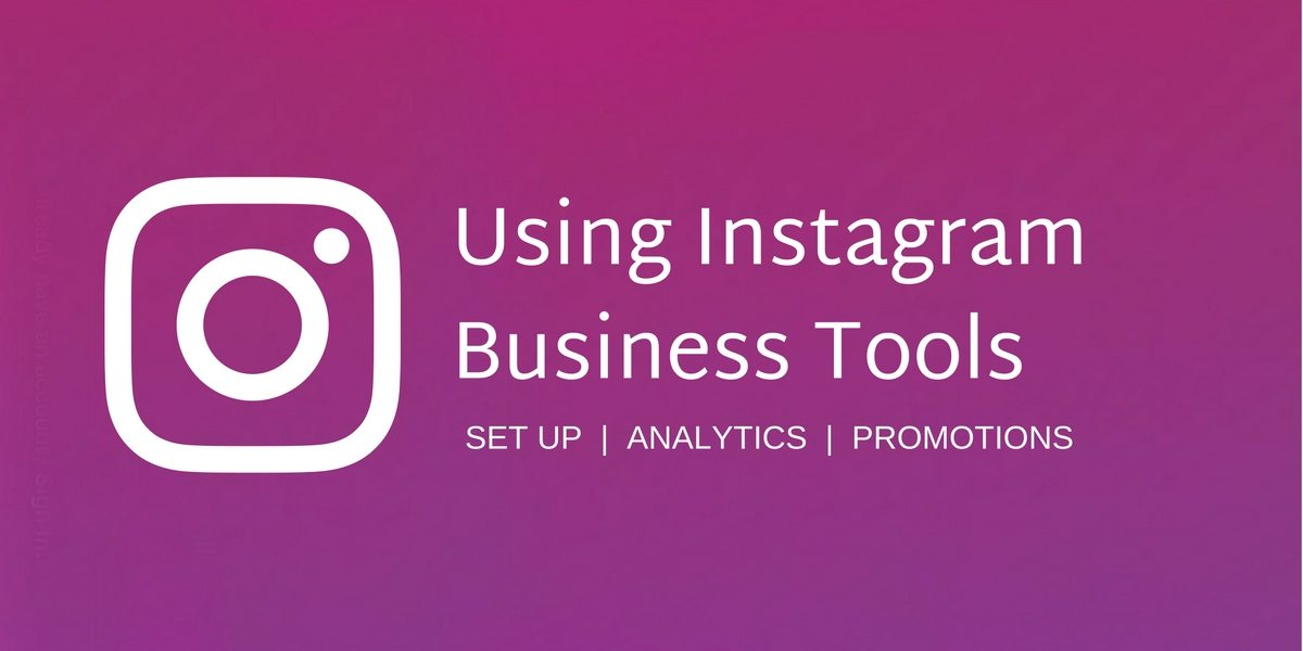 how to set up business account on instagram