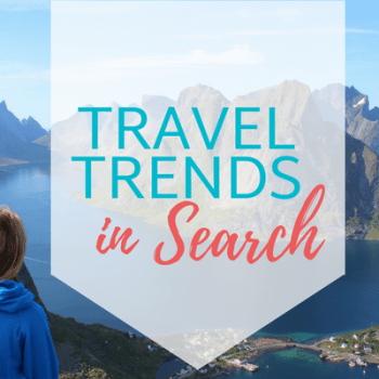 Travel Trends in Search