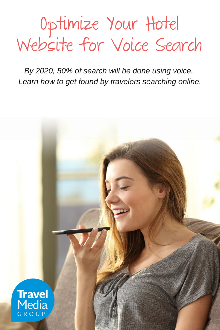 As people get more comfortable with speaking to their devices, the impact of voice on SEO will grow. Learn how to optimize your hotel website to be found with voice search.